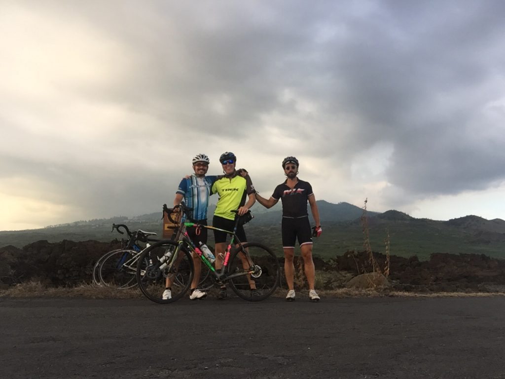 Birthday celebration.. A quick 25 miler to the Extint Machana landing Lava Flow
